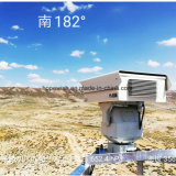 Macchina fotografica termica di formazione immagine dell'obiettivo PTZ di sorveglianza di obbligazione di Tri-Spettro