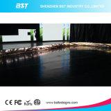 Het beste Binnen Gebogen LEIDENE van de Kwaliteit P4 Scherm van de Vertoning voor Vaste Installatie