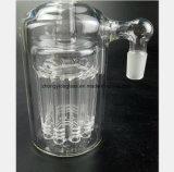 De Pijp van Smokeing van het glas van Filter 90 van de Rook van de Collector Graden van de Tabak van het Recycling