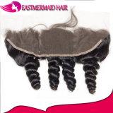13*4 Onda Solta o cabelo Brasileiro Lace colisão frontal