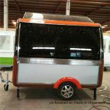 Bcf-7b de hete Verkopende Mobiele Kar van de Hotdog van de Aanhangwagen van het Voedsel