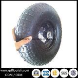 팽창식 트롤리는 10 인치 외바퀴 손수레를 위한 압축 공기를 넣은 고무 바퀴를 선회한다