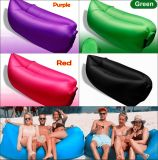 Sacco a pelo gonfiabile dell'aria del ritrovo pigro della fabbrica/sacco a pelo gonfiabile personalizzato base strato/del sofà