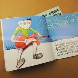 Impression bon marché de livre de point de selle de catalogue de livre pour enfant