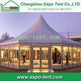 Tenda di alluminio del Pagoda della parete di vetro per gli eventi