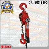 Alzamiento de la palanca de la herramienta de mano 3t con un encadenamiento