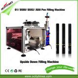 Máquina de rellenar de O1 Ds80 Juju de la pluma del E-Cigarrillo al revés de Dispsoable