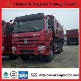 판매를 위한 Sinotruk HOWO6*4 덤프 트럭 또는 팁 주는 사람 트럭