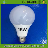 luz de bulbo do diodo emissor de luz 15W com alumínio e plástico de Eco