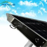 réverbère solaire de 10W-100W DEL avec la lumière solaire Integrated de jardin de panneau solaire, de contrôleur et de batterie