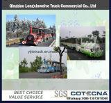 Eléctrica de equipos Trackless parque de diversiones tren modelo