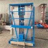 Migliore Tabella di elevatore idraulico aerea di vendita della lega di alluminio dell'elevatore dell'uomo dell'albero doppio