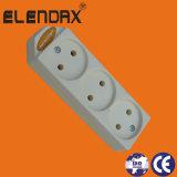 Elektrische Extensions-Kontaktbuchse mit Masse und Schalter (E5005ES)
