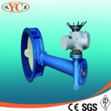 Electric Extension Rod Flanged Butterfly Valve