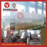 Техническая туннеля ремня горячего воздуха оборудование для сушки горячего воздуха