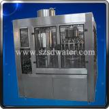 de la pequeña agua embotellada automática 2000bph máquina de rellenar 3 in-1