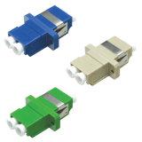 Adattatore ottico duplex della fibra di FTTH LC