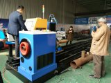 Machine en acier de coupeur de plasma de pipe de commande numérique par ordinateur de Kr