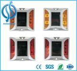 Marcador de pavimento plástico solar para pavimentos