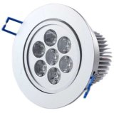 ÉPI Downlight du plafonnier de LED 7W LED