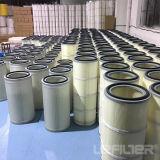 Cartuccia di filtro dalla polvere del filtrante della cartuccia dell'aria del rimontaggio