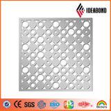 El último panel compuesto de aluminio tallado CNC con diseño atractivo