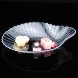 식기 플라스틱 접시 처분할 수 있는 가리비 모양 접시