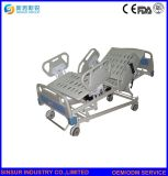 Medizinische Erschütterung-geduldiges elektrisches Krankenhaus-Bett der Möbel-fünf mit dem Wiegen