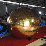 Commercio all'ingrosso gonfiabile decorativo della sfera dello specchio