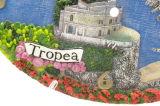 Comercio al por mayor reloj de la resina Oval Tropea personalizado para el recuerdo