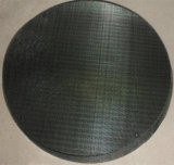 Os Dutch tecem o disco de pano de engranzamento do fio/a tela filtro pretos da extrusora