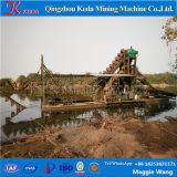 Keda Máquina de mineração de ouro, Corrente de Ouro da Caçamba Draga