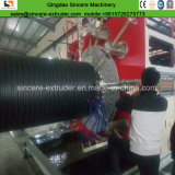 HDPEの空の壁の螺線形傷の配管製造業機械