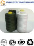 100% poliéster de hilo tejido de hilo de coser