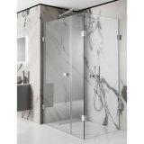 O painel Inline & fixo articulou o cerco do chuveiro da porta do chuveiro