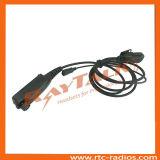 STP9000のための小さい折りえりPttが付いている対面無線のアクセサリXLR急速切断ケーブル