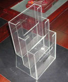 Rectángulo de zapato transparente de acrílico de encargo