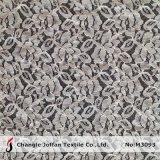 Dentelle de coton de tissu Allover d'Ivoire (M3093)