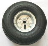 A borracha do trole roda 3.50-4 rodas infláveis do ar do Wheelbarrow