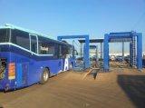 Máquina industrial de la colada del omnibus con tres cepillos