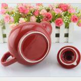 ロゴの磁器のエナメルのティーポットの陶磁器のコーヒー茶鍋のディナー・ウェアのコーヒー鍋をカスタマイズしなさい