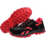 流行のスポーツの鋼鉄つま先の反粉砕の安全靴