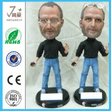 7.5 '' Steve Jobs Resina Bobble Head Figura, Steve Jobs Bobble Head