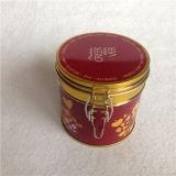 Круглая коробка олова промотирования для контейнера пакета кофеего круглого