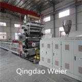 1220mm de ancho de plástico PVC hojas de mármol que hace la máquina