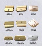 Punho da tração da caixa de madeira do punho/jóia da gaveta da caixa de madeira do punho da liga do metal do aço inoxidável