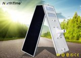 IP65 Sunpower de ahorro de energía LED del panel de control de tiempo Solar farolas