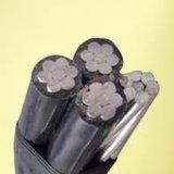 De XLPE Geïsoleerde Kabels van de Leider van het Aluminium Lucht Gebundelde boven - Kabel ABC