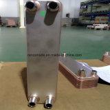 R22/R23/R134A/R404A/R407A/R407c 냉각하는 증발기 구리에 의하여 놋쇠로 만들어지는 격판덮개 열교환기