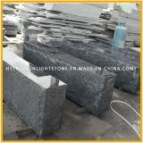 舗装するか、または庭のための炎にあてられたG654 Padangの暗い灰色の花こう岩の石